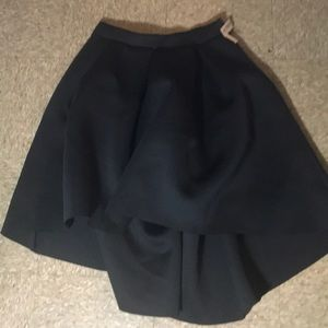 Dresses & Skirts - Hi low scuba skirt XL
